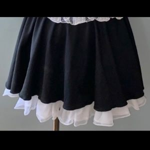 Maid Halloween SKIRT & Duster ONLY